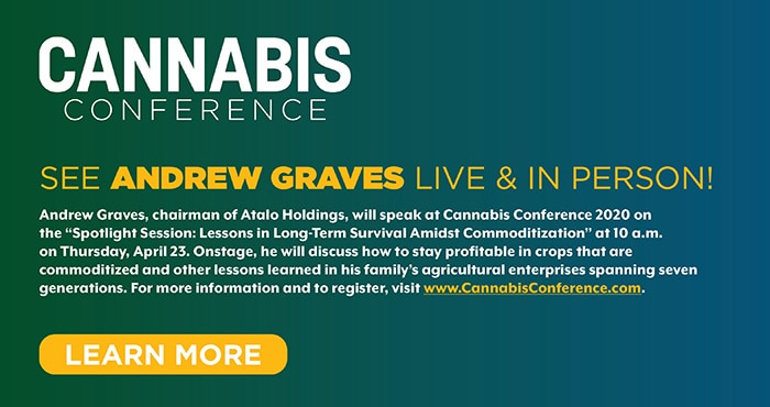 andrew graves cannabis conference